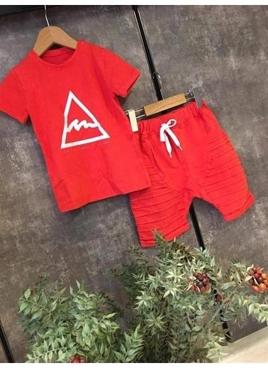 Quzucuk Kids Erkek Çocuk Baharlık Kırmızı Spor Takım Kırmızı